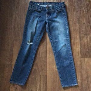 Jcrew Toothpick Ankle Jeans sz 29